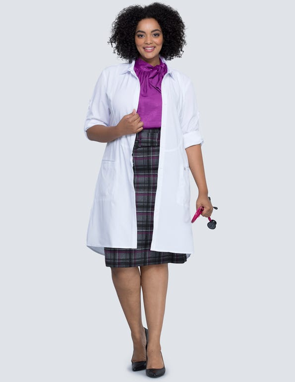 Women's Princess Seam 40' Lab Coat
