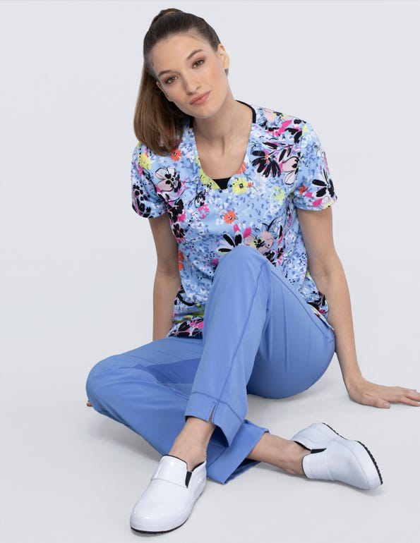 Beautiful Blooms Round Neck Top
