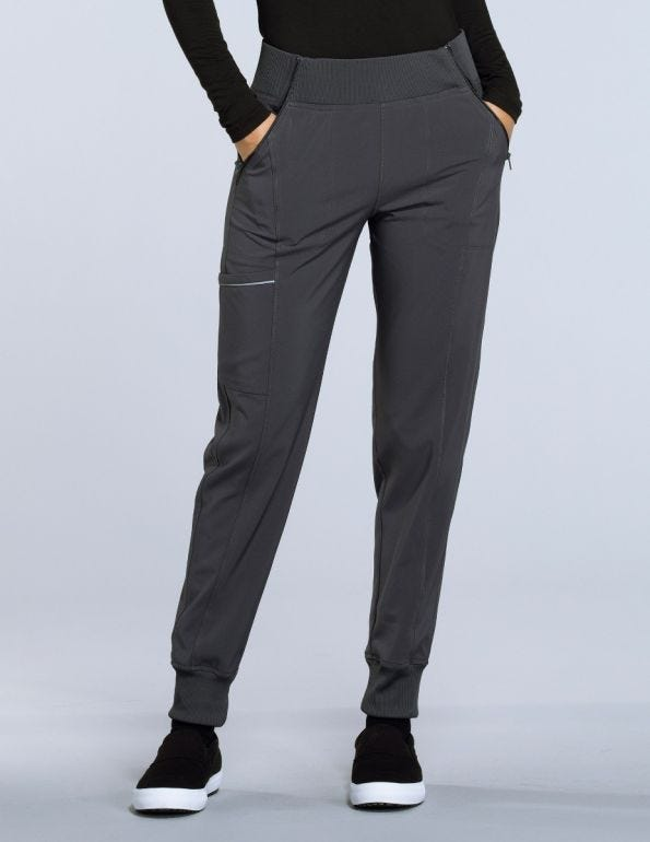 Women's Elastic Waistband Tapered Jogger Scrub Pant