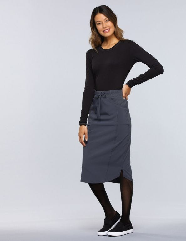 Women's 30 Drawstring Scrub Skirt