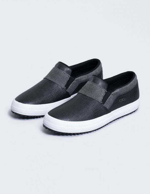 Rush Vulcanized Leather Slip-On