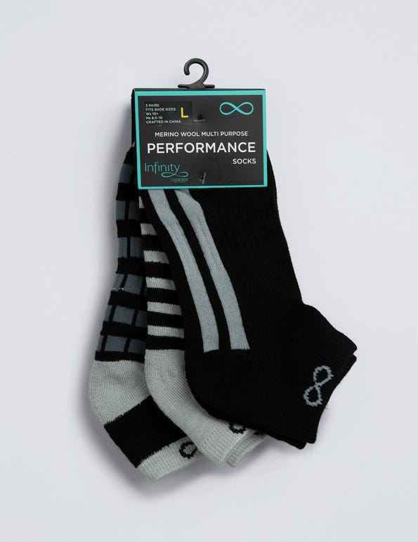 Men's Dash No-Show (3 pair)