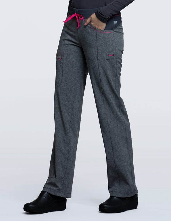 Women's Low Rise Drawstring Scrub Pant