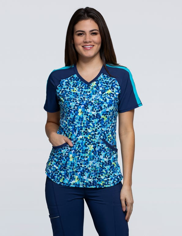 Show Me What You've Dot V-Neck Top