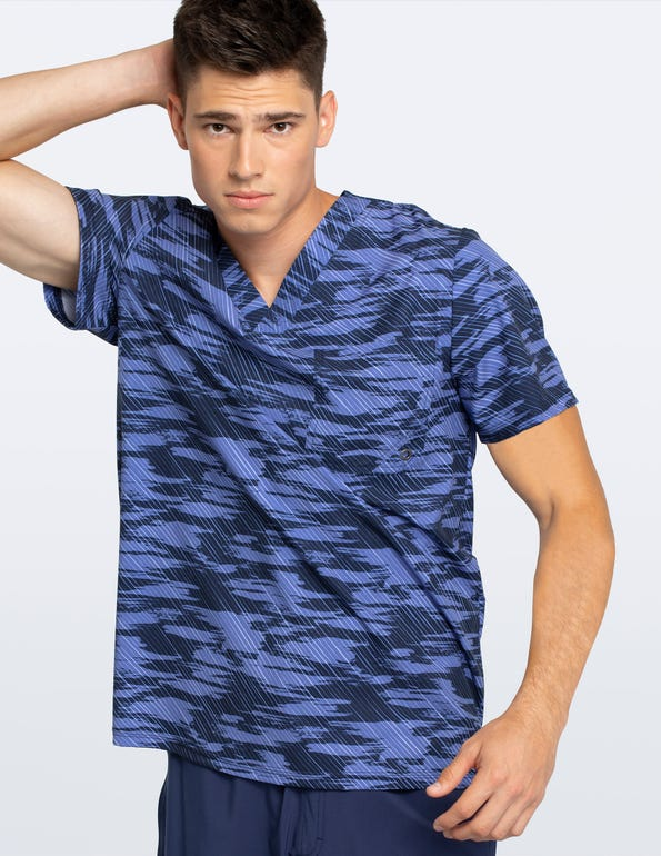 Men's Down The Line V-Neck Top