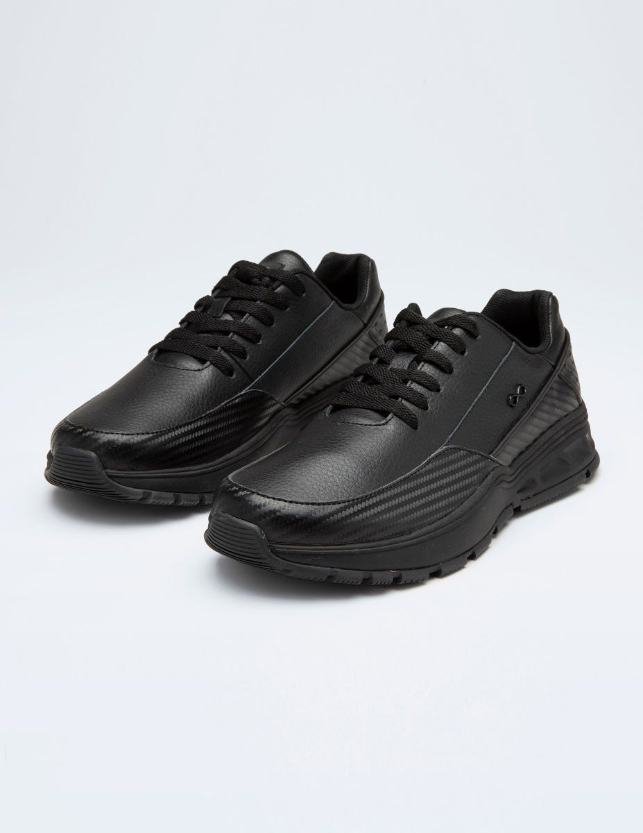 Men's Flow Leather Sneakers - Athletic